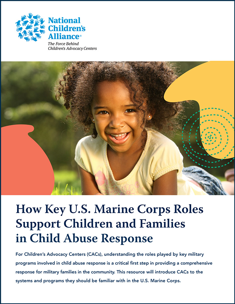 How Key U.S. Marine Corps Roles Support Children and Families in Child Abuse Response